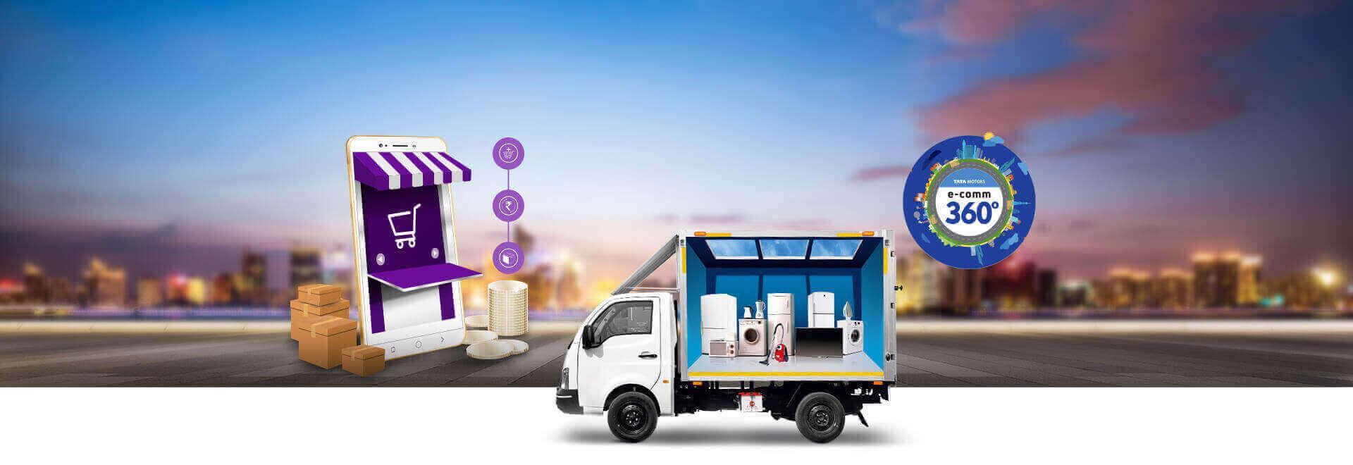 Tata Ace E-commerce Container