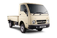 Tata Ace Gold White Pop Up Front View