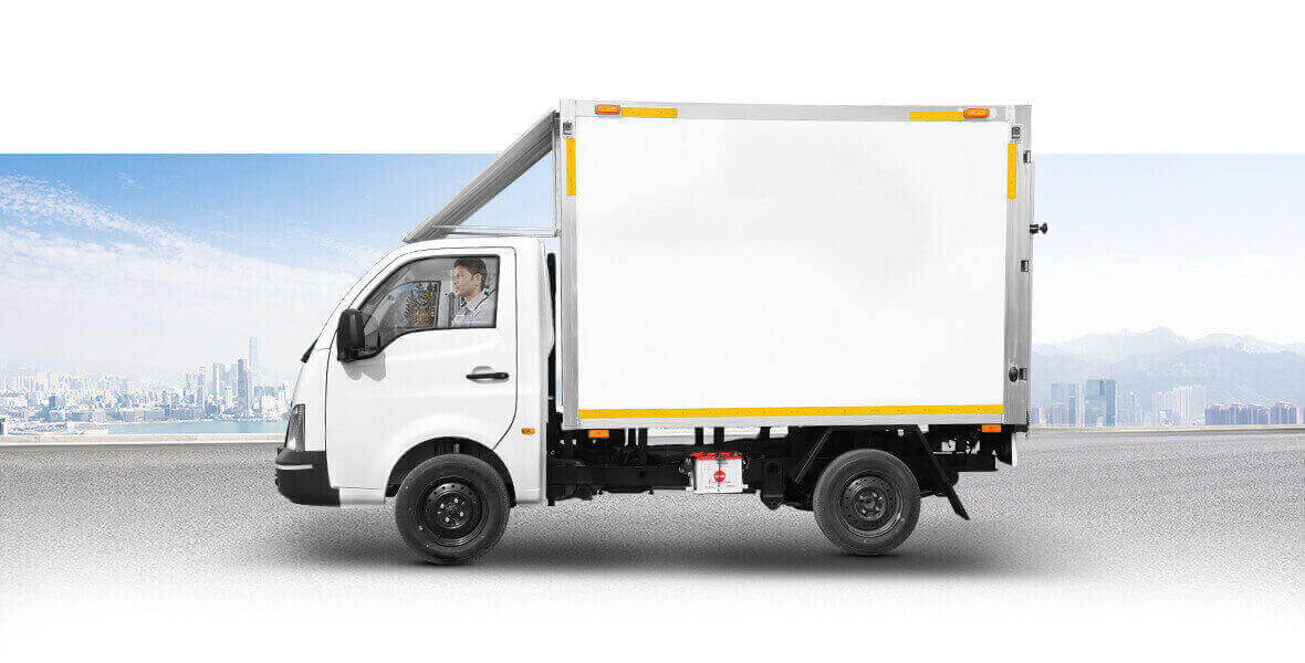 Tata Ace Container Flat View